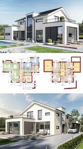 Modern Houseplans Modern House Architecture Design Ideas With Open Floor Plan