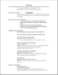 Sample Government Jobs Resume Gov Template Federal