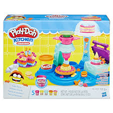 We love Play Doh Kitchen Creations Tums 2 Tots line