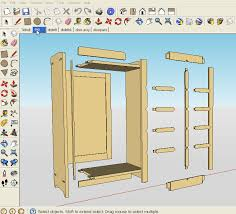 sketchup woodworking plans best way to digitalize plans