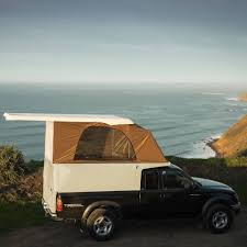 Streamlined Pickup Camper Features Lightweight Composite Design