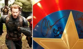 Avengers Infinity War Captain America Shield Clue