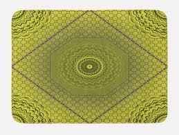 badematte plüsch badezimmer dekor matte mit rutschfester rückseite abakuhaus boho hippie geometrische concentric kaufen otto