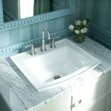 Two Faucet Trough Bathroom Sink by Bathroom Sink Double Faucet Trough Bathroom Sink Full Size Of