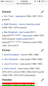 Smashing Pumpkins Wiki Ita by According To The Band Members Section Of Soundgarden U0027s Wikipedia