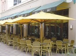 Commercial Rectangular Market Umbrella