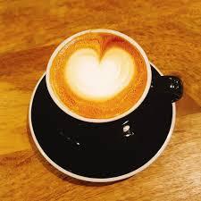 Cappuccino Coffee Latte Art Hart Love Cafe