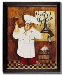 Creative Lovely Fat Chef Kitchen Decor Chub Quick View With Bread Tile