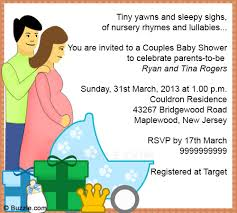 Baby Shower Cards Samples by Samples Of Baby Shower Invitations Theruntime Com