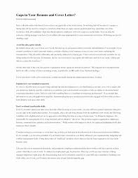 How To Address Gaps In Employment On A Resume Best Of Writing Rh Pethard Info For References Sample With