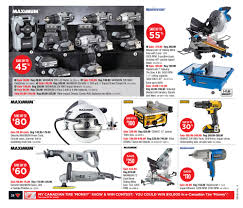 Sears Canada Tile Saw by Canadian Tire Weekly Flyer Weekly Flyer Apr 30 U2013 May 6