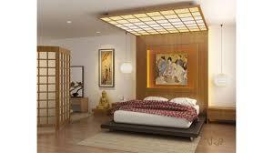 japanisches schlafzimmer dekor