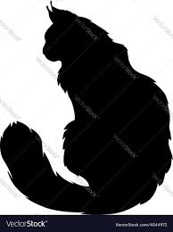 cat silhouette cat silhouette royalty free vector image