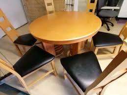 esszimmertisch buche mit 8 stühle