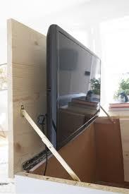 beeindruckend versteckte tv ständer für schlafzimmer