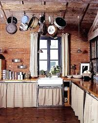 Rustic Kitchen Curtains Style Log Cabin 17 Best Images About Decorating