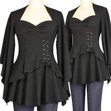 blueberry hill fashions plus size gothic tops skirts coats and