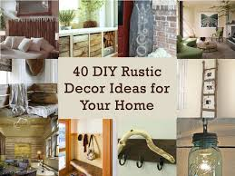 Home Decor 31 Rustic Diy Projects Refresh Restyle
