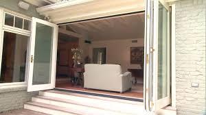 Jen Weld Patio Doors by Folding Patio Doors Bring The Outdoors In Today U0027s Homeowner