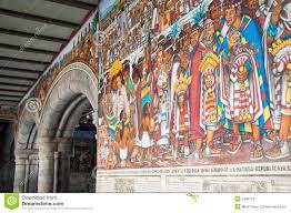 Jose Clemente Orozco Murales Palacio De Gobierno by Mural Guadalajara De Orozco Fotografía De Archivo Imagen 4779792