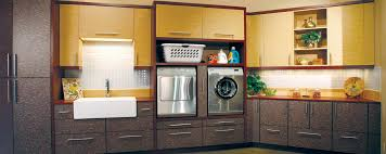 Huntwood Cabinets Arctic Grey by Modern Utility Room Custom Cabinets