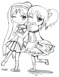 Best Friend Coloring Pages For Teenage Girls