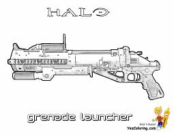 Big Man Halo 3 Coloring Pages