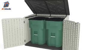 Suncast Vertical Storage Shed Bms5700 by Outdoor Garbage Can Shed Suncast Shed Home Depot Suncast Sheds