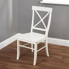white cross back chairs stuhlede esszimmerstuhl