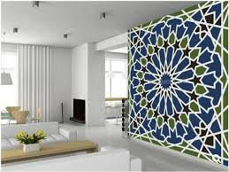 Custom Art WallpaperArabesque Seamless Patternfor The Living Room Bedroom Dining Ceiling