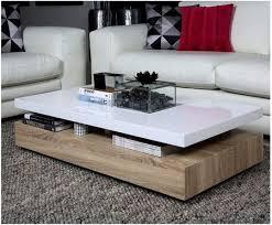 couchtisch clary weiß braun wohnzimmertisch lounge