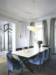 Houzz Dining Room Adorable Blue Chairs On From Impressive