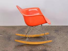 Rocking Chair Cushion Set Red Yellow Orange Fabrics Rockers ...