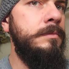 Long Chin Curtain Beard by How To Train Your Mustache Beard Mountain