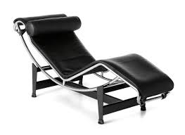 Cassina LC4 Chaise Longue, Chrome-plated, Leather Scozia Black Lc4 Chaise Lounge By Le Corbusier Flyingarchitecture Genuine Leather Lounge Chair Black The Peculiar Story Of The Longue By Designer Bi Color Products Tr41001 Style Chaise Longue Corbusijeanneret Perriand Lc4 All Sets Dzine Furnishing La White Taracea Mammoth Dark Stained Oak Base