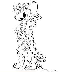 Olive In Fancy Dress Popeye 9656 Coloring Pages Printable