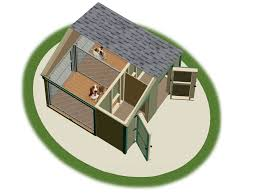 Used Storage Sheds Okc by Dog Kennels Pine Creek Structures