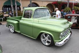 Chevy Truck | Jeff Mattazaro 1956 Chevy Pickup Del Mar Top 100.JPG ... 1956 Chevy Apache Nikki Bunn Lmc Truck Life Quick 5559 Chevrolet Task Force Truck Id Guide 11 Hot Rods Cabs The Hamb 195556 Grille Trucks Grilles Trim Car Parts Emerald Beauty Rod Network 56 Chevy Parked On A Bluff Overlooking Medina Lake Pickup Lost Wages Pickup Pinterest Cars Classic Trucks And Gmc I Had Chick Friend In High School Whos Dad Built Her Gm 195559 Gm Dont See Chopped Top Step Side Very Often Stepside Runs Drives Original Or V8