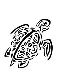 Squelette Tribal De Tortue Illustration De Vecteur Illustration Du