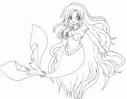 Mermaid Melody Pichi Pitch Coloring Pages Print