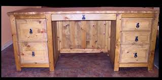 Custom Western And Southwestern Style Office Furniture