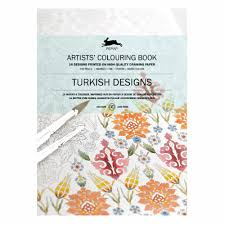 Artists Colouring Book Turkish Designs
