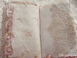 Shabby Chic Altered Book W Lace Ribbon And Pretty Vintage Schtuff