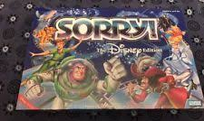 Sorry Disney Edition Board Game