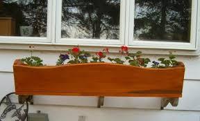 free flower planter box plans free plans for flower planter boxes
