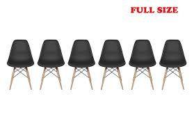 Inspirer Studio® Set Of 6 New 17 Inch SeatDepth Eames Style Side ... Walnut Ding Tables Custmadecom How To Choose The Right Ceiling Light Fixture Size At Lumenscom Kitchen Fniture For Sale Prices Brands Stana Montrose Round Room Set From Lexington Coleman 8 Seat Youll Love Wayfair Modern Contemporary Cantoni 42 Sets Table Chair Combinations That Just Odd Fold Down Amazing Folding With Design And Living Chairs Accent Lazboy On Saleinspirer Studio Of 6 New 17 Inch Seatdepth Eames Style Palouse Customwoodworks Welcome Dinettes Unlimited