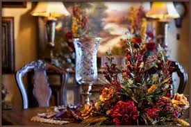 Floral Centerpieces For Dining Room Tables by Silk Flower Arrangements For Dining Room Table Pictures Reference