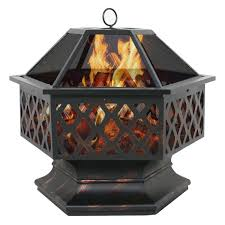 Details About Pinacate Outdoor Fireplace In 2 Colours75339