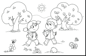 Free Printable Autumn Coloring Pages For Adults Disney Fall Kids Preschoolers Sheets Full Size