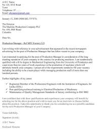 Internship Cover Letter Tips Radiovkm Tk Engineering Examples Accou